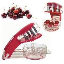 Neue Heiße Verkauf kirschentkerner Kirschen Werkzeug-set Küche Gadgets Werkzeuge Pitter Kirschkern Schnelle Enucleate W2