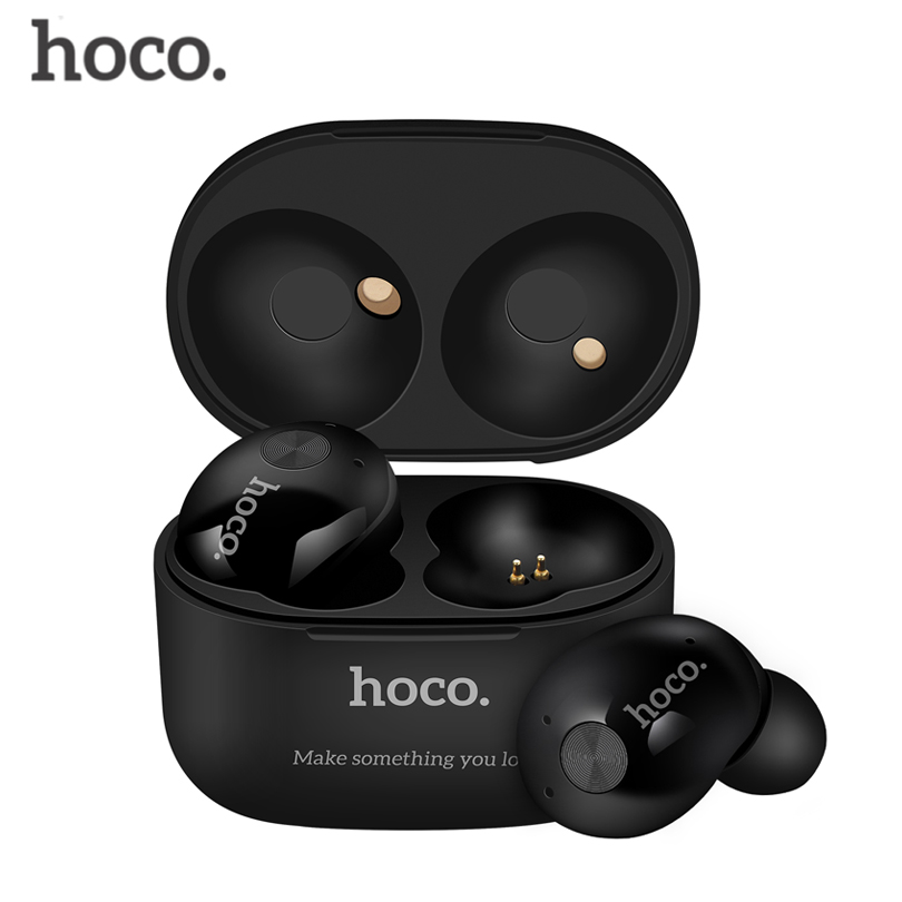 Hoco ES10 Business Earphones Wireless Bluetooth Earphone Stereo Headsets with Mic Handsfree Calls for Iphone Android phone lymoc v8s business bluetooth headset wireless earphone car bluetooth v4 1 phone handsfree mic music for iphone xiaomi samsung