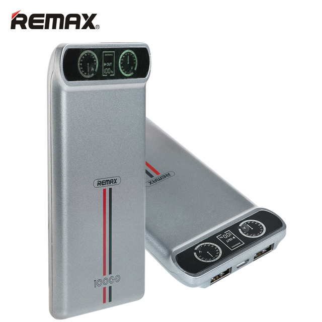 Aliexpress Com Buy Remax Power Bank 10000mah Lcd
