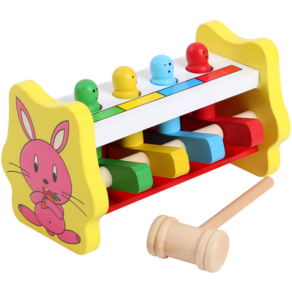 Wooden Toys For Toddlers And Kids : Kids toys puzzles montessori educational wooden wood