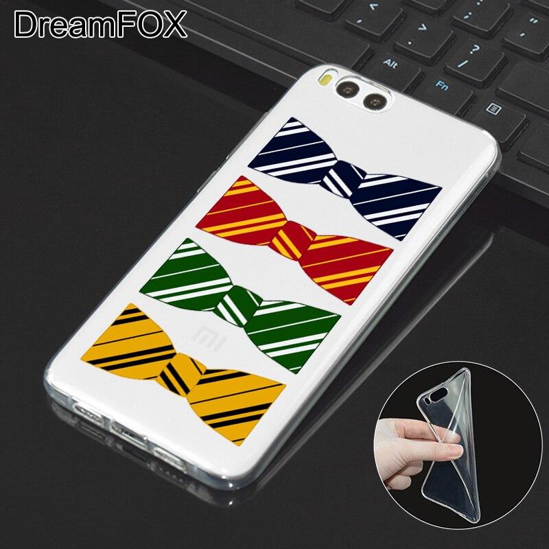 DREAMFOX L284 Fashion Harry Porter Soft TPU Silicone Case Cover For Xiaomi Mi Note 2 3 4 5 6 M5 4C 4S 5C 5S 5X 6X A1 Plus
