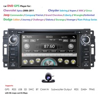 6.2 Car DVD GPS Radio Player For Chrysel JEEP Wrangler 2007 2015 Compass Patriot Grand Cherokee Commander CANBUS RDS SWC DTV BT