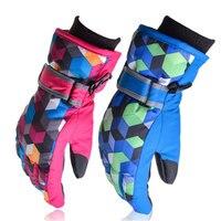 Hot verkoop ouder-kind ski handschoenen volwassen/kinderen winter buitensporten skiën handschoenen rit fietsen klim snowboard skiën handschoenen