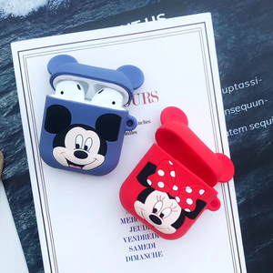 Image 2 - 3D Cartoon Wireless Bluetooth Earphone Case For Apple AirPods Silicone Charging Headphones Cases For Airpods Protective Cover