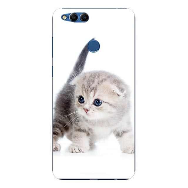 TPU untuk Huawei Honor 7X7 X Case Cover untuk Huawei Honor7X Bermain Lukisan Lembut Silicone Ponsel Penutup Belakang case untuk HUAWEI Mate SE