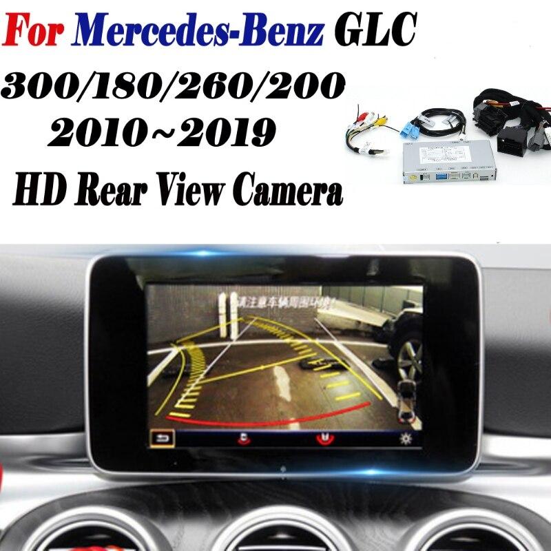 Caméra de vue arrière pour mercedes-benz GLC 300 180 260 200 2010 ~ 2019 adaptateur Original écran mise à niveau affichage caméra de sauvegarde décodeur
