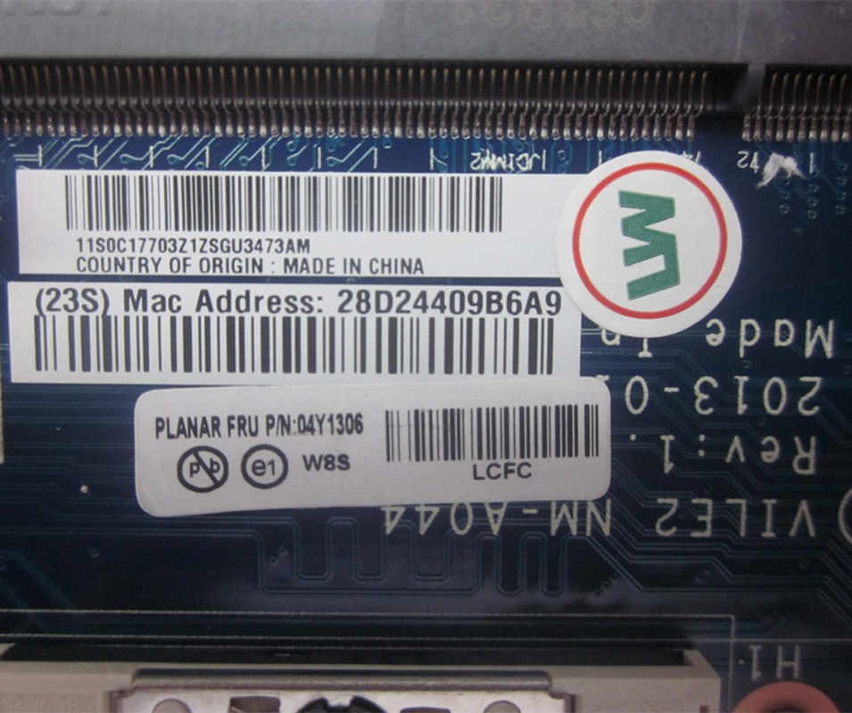 لينوفو ثينك باد E531 اللوحة المحمول FRU 04Y1306 VILE1 NM-A044 HM77 S989 NVIDIA GT 740 متر 2 جيجابايت MB 100% اختبار سريع السفينة