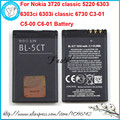 New BL-5CT BL5CT Li-ion Mobile Phone Battery For Nokia 3720c 3720 classic 5220 6303 6303ci 6303i classic 6730 C3-01 C5-00 C6-01