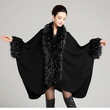 #2911 Winter 2016 Inverno feminino Fashion Scarf brand Shawls and scarves Fur Foulard femme Pashmina scarf Ponchos and capes