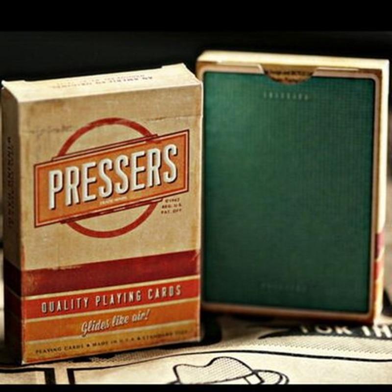 प्रेसर्स डेक एलायनिस्ट मैजिक प्लेइंग कार्ड्स नई सील उच्च गुणवत्ता वाले रेट्रो संग्रहणीय पोकर मैजिक डेक 1 पीएस मैजिक प्रॉप्स