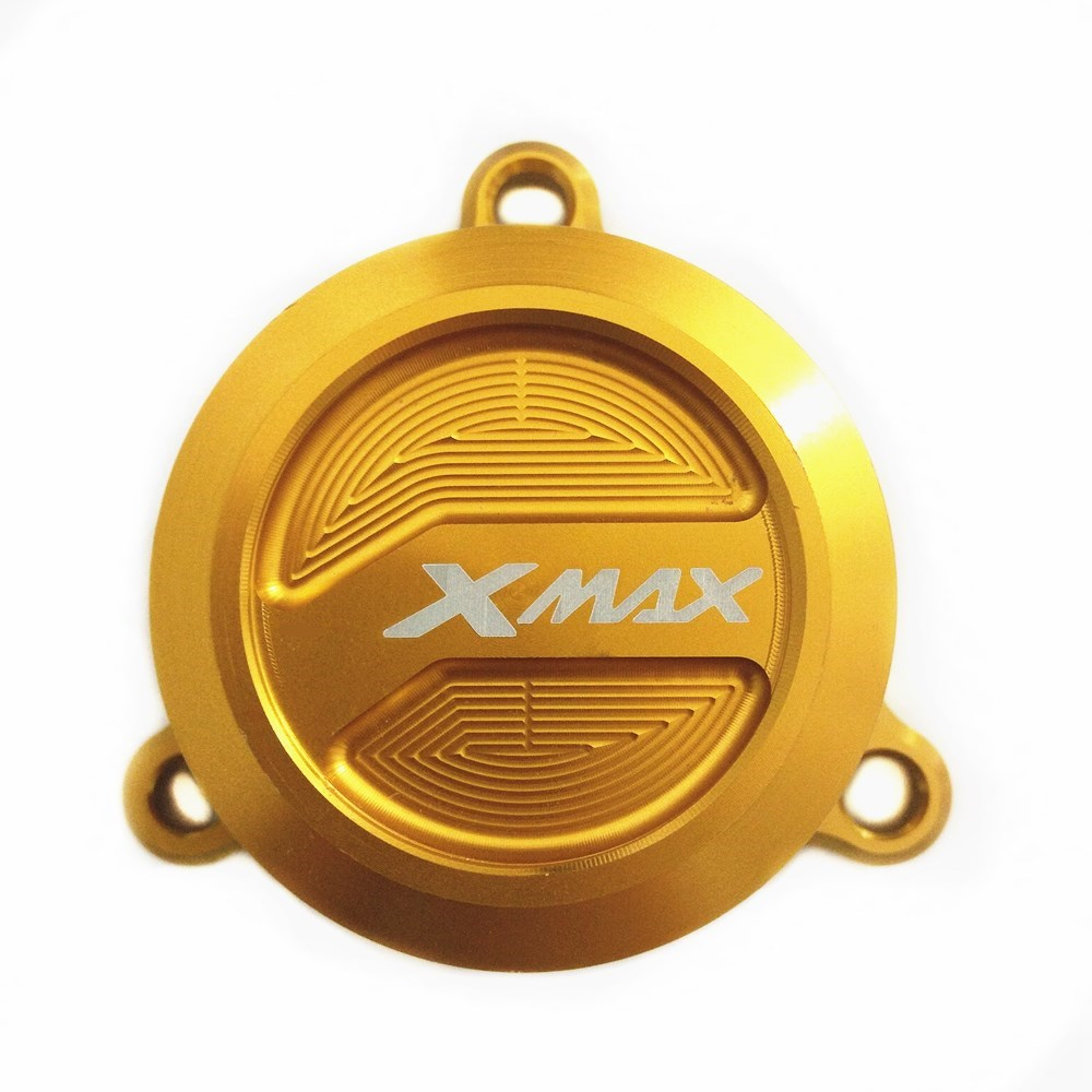 Modified Motorcycle xmax radiator cap engine oil fuel filter radiator guard cap cover for yamaha xmax 125 250 300 400 2017 2018
