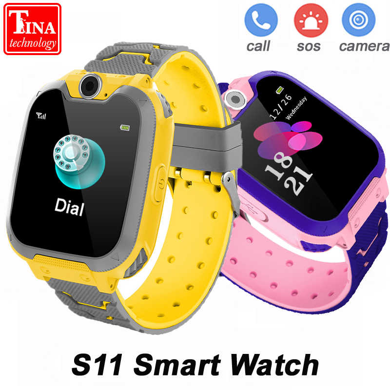S11 Child Smart Watch SOS Phone Children Music Watch Color Touch Screen Smart Baby Watch Play Game Music Play Watch Boys Girls