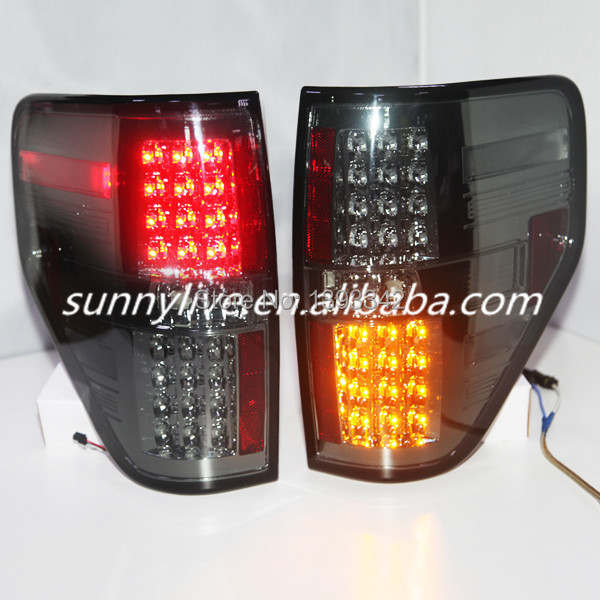 Us 279 0 10 Off For Ford F150 Raptor Led Tail Lights Smoke Black Color 2008 2014 Year Sn In Car Light Assembly From Automobiles Motorcycles On