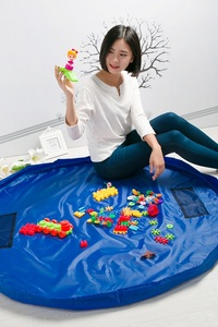 Image 4 - Przenośny 78 Cal duży mata do zabawy dla dzieci Playmat wielofunkcyjny samochód torba na zabawki organizator rodzinny piknik maty do zabawy 200 CM