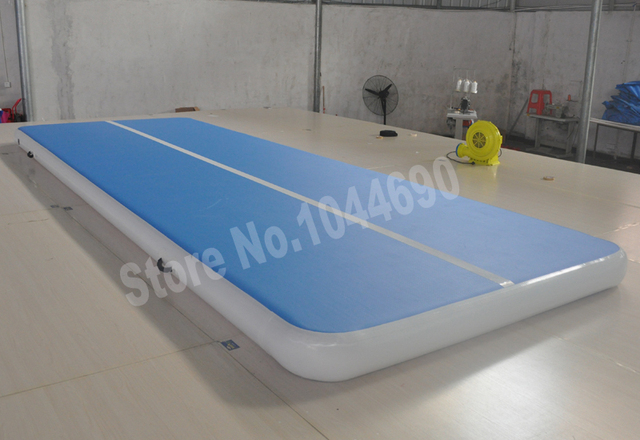 Бесплатная доставка высокое качество надувной воздушный трек акробатика гимнастика мат 8*2 м