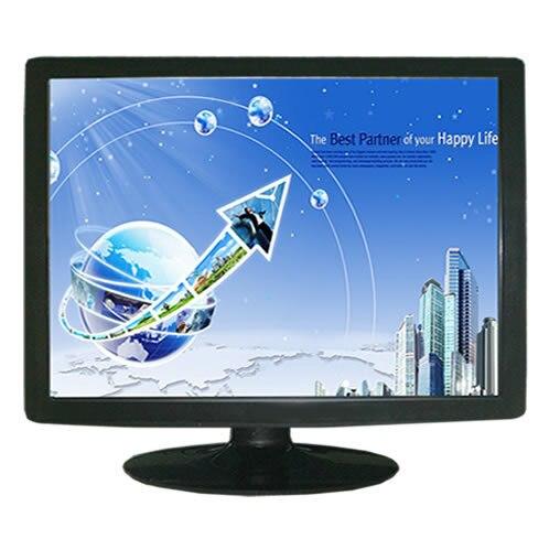 24 дюймов рабочего жк-монитор с сенсорным экраном, Tft из светодиодов монитор с сенсорный дисплей