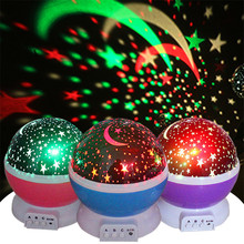 ASKMEER USB LED Night Light Projector Novelty Luminous Starry Sky Toys Creative Birthday Gifts for Children