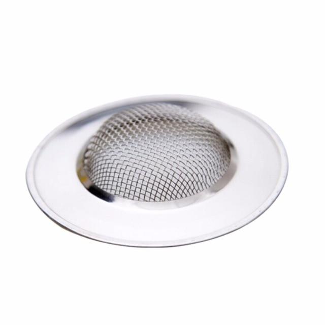 Genial Stainless Steel Sink Strainer Bathtub Hair Catcher Stopper Shower Drain  Hole Filter Trap Metal Bathroom Kitchen