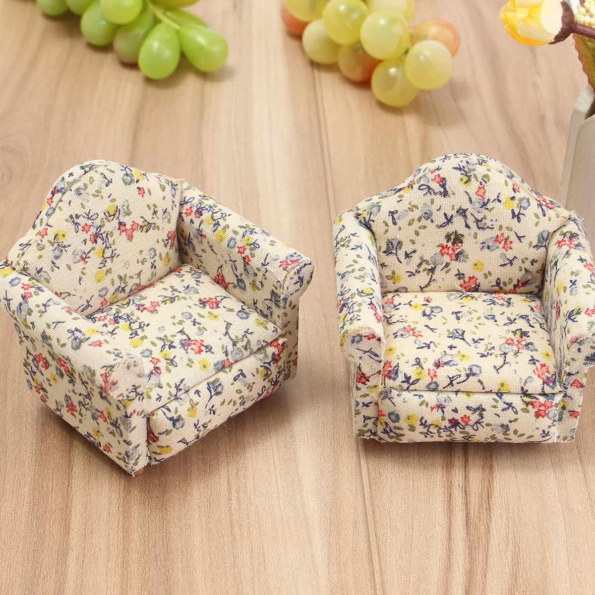 Buy 2pcs Set Floral Pattern Flower