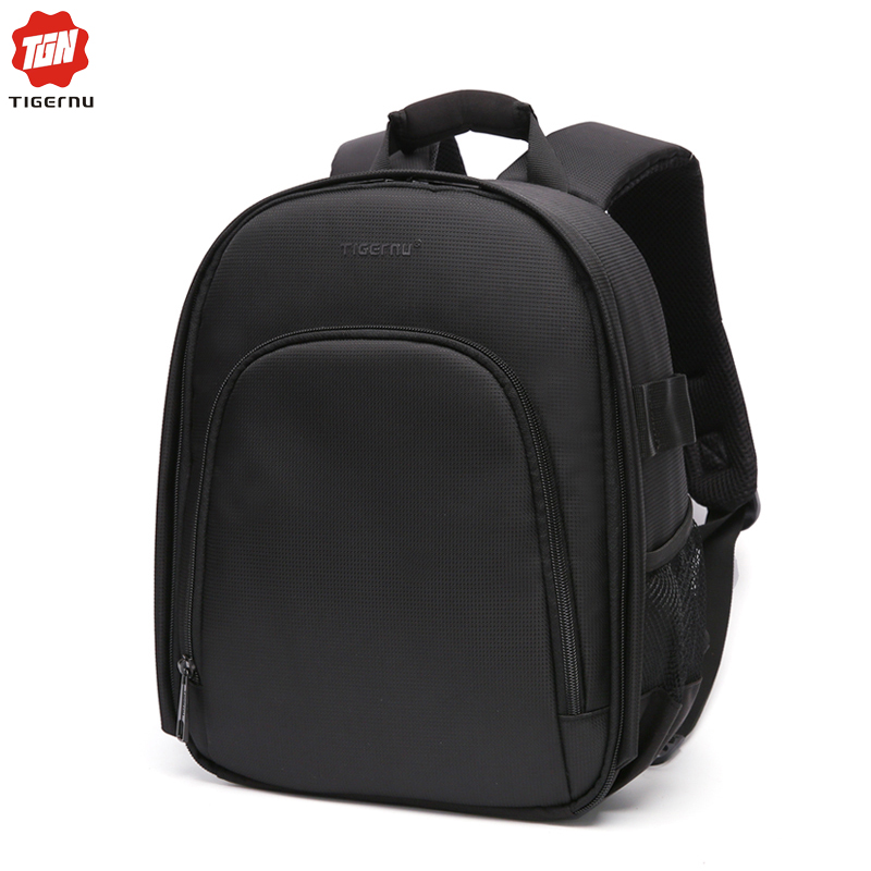 цены Tigernu New Digital DSLR Camera Bag Backpack Photography Video Case for Camera nikon canon mochila Leisure free shipping