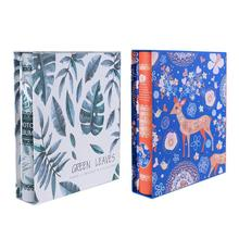 2patterns available 4D 200 Sheets Interleaf Loose-Leaf Cartoon simple style Photo Album Family Wedding Memory Book