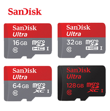Sandisk Class10 32gb Micro SD card TF card Ultra 80Mb/s 128gb 16gb 32gb 64gb Original memory card freeshipping