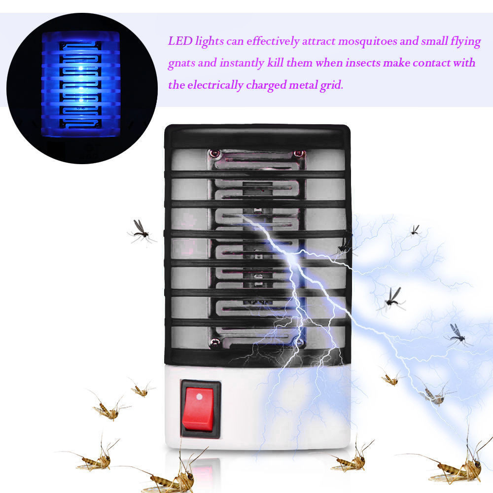 Best Selling 2019 Products LED Socket Electric Mosquito Fly Bug Insect Trap Killer Zapper Night Lamp Lights Support Dropshipping