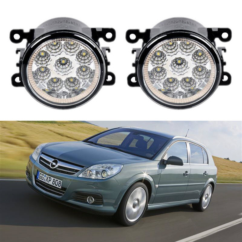Car-Styling For Opel Vauxhall Signum 2006 2007 2008 9-Pieces Led Fog Lights H11 H8 12V 55W Fog Head Lamp aftermarket free shipping motorcycle parts eliminator tidy tail for 2006 2007 2008 fz6 fazer 2007 2008b lack