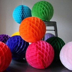 Festival lantern 25cm 1pcs lots honeycomb balls paper flower balls party decorations wedding decorations event party.jpg 250x250
