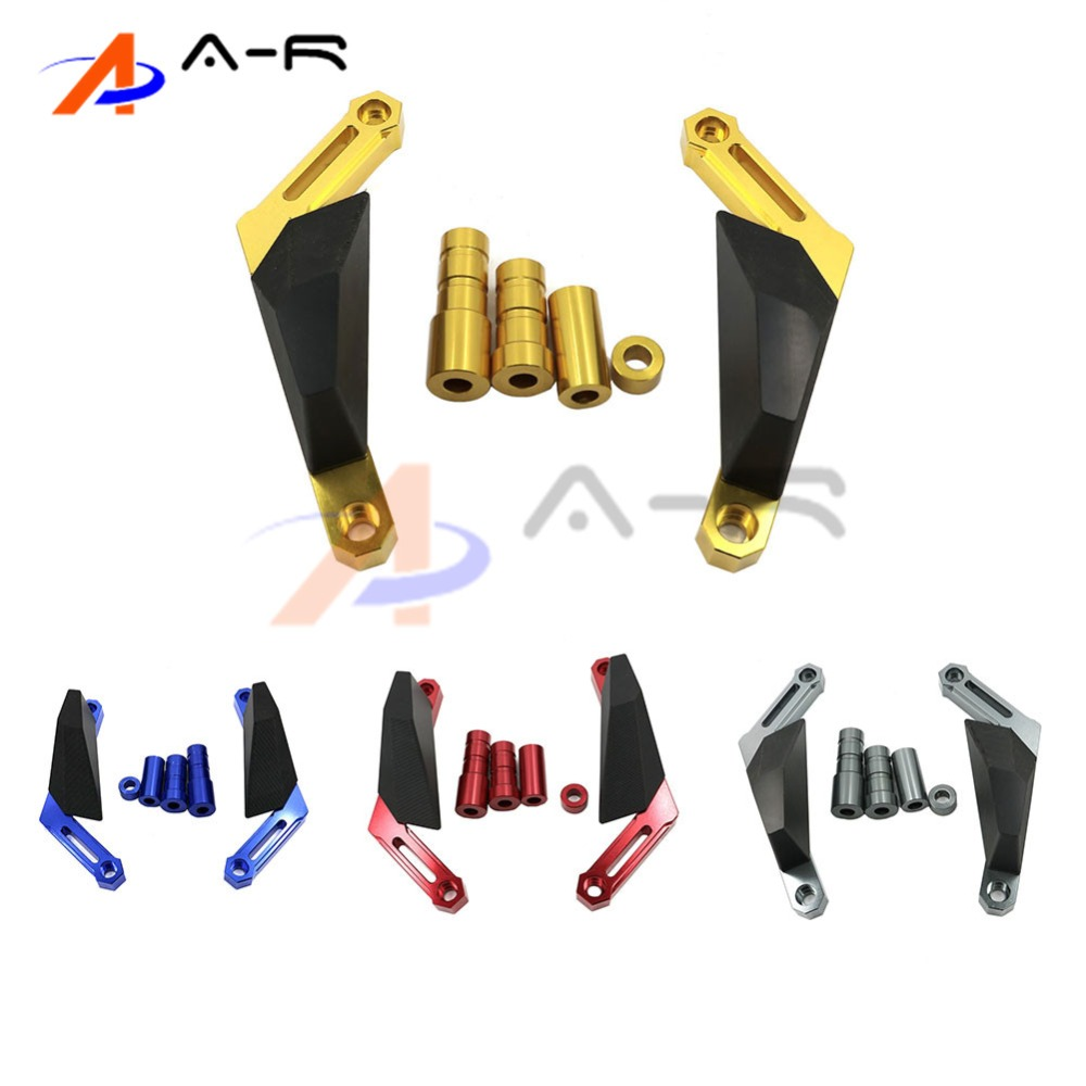 Motorcycle Frame Sliders Crash Falling Protection Anti Crash Protectors For YAMAHA MT-09 MT09 TRACER FZ09 FJ09 2013 2014 2015 dreamstate mexico 2017