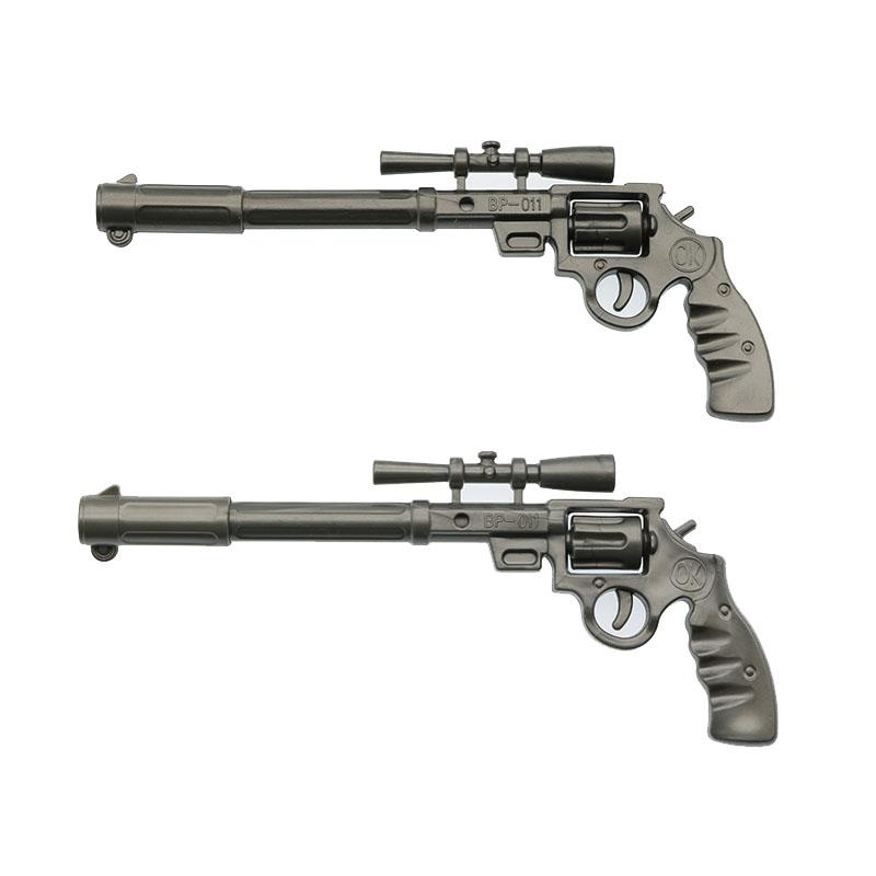 2pc Roscoe Fiveshooter Gun - Ballpoint Pen Cute Funny Kawaii Pens Canetas Rollerball Pen School Supplies Papelaria