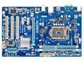 Frete grátis 100% motherboard original para gigabyte ga-p61-s3 ddr3 lga 1155 p61-s3 solid-state grande placa de desktop motherboard