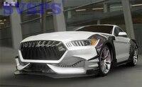Hohe Qualität Auto körper kit FRP Unlackiert frontschürze carbon front lip diffusor für Ford Mustang Limgene eine der stil 15 17-in Bodykits aus Kraftfahrzeuge und Motorräder bei