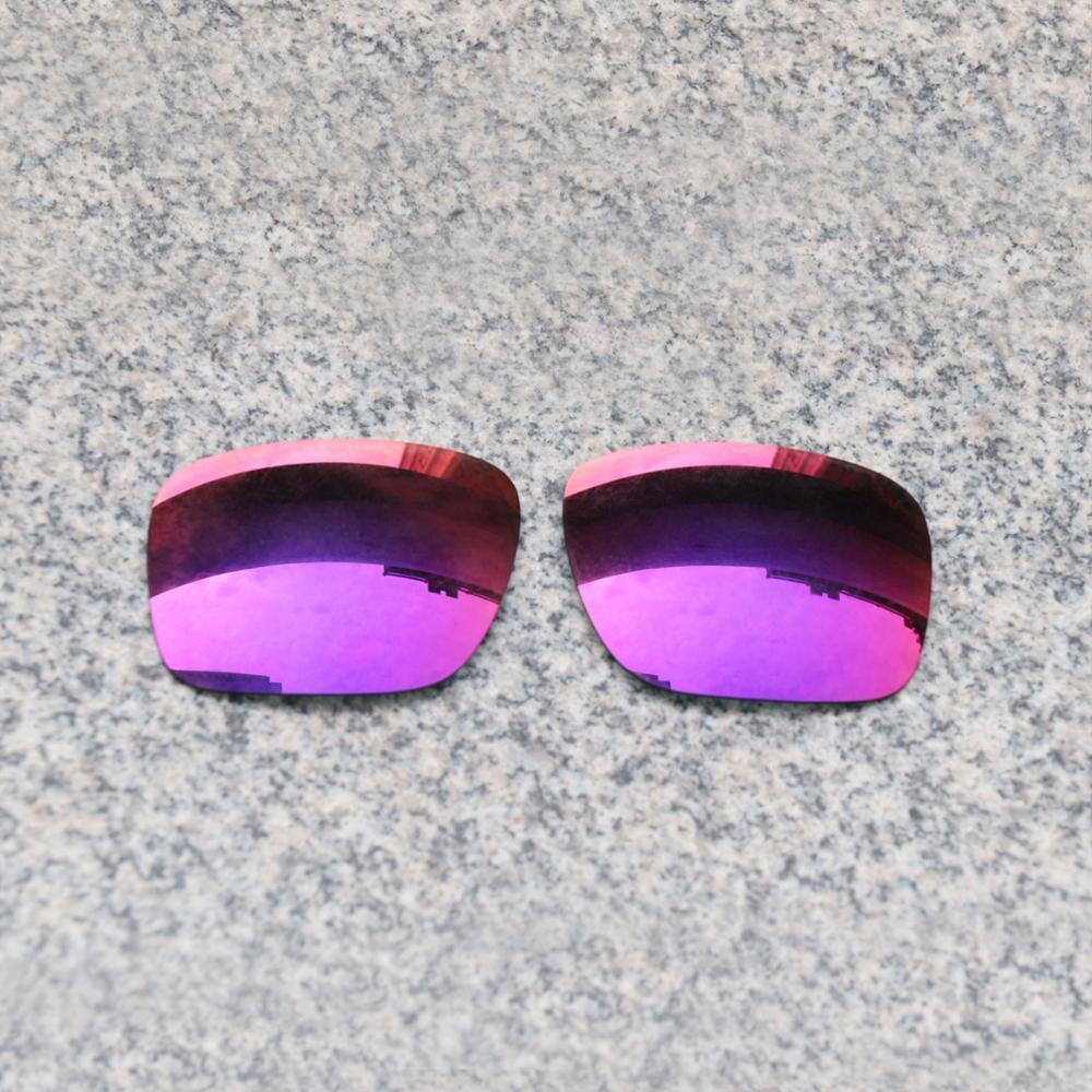 E.O.S Polarized Enhanced ReplacementLensesforOakleyHolbrook Sunglasses - Midnight Sun Polarized Mirror