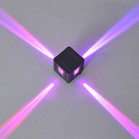colorido cruz estrela feixe de luz lampada