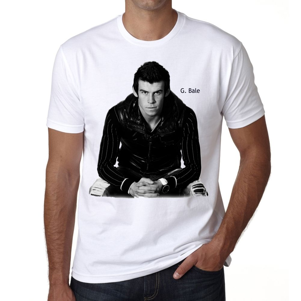 Gareth Bale Tshirt Homme T-shirt Short Sleeve Casual Printed Tee Size S-3Xl Classic Cotton Men Round Collar Short Sleeve top tee