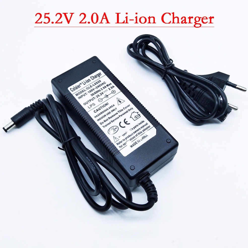 HK liitokala 25.2V 2A battery pack charger Electric vehicles dedicated charger 24V 2A Polymer lithium battery charger|Chargers| |  - title=