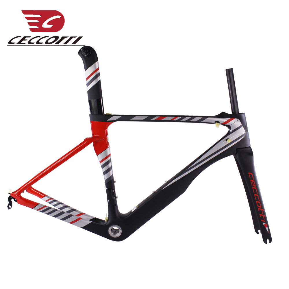 Carbon Road Frame UD Matte New Fast Riding Chinese Carbon Frame DI2 Mechanical Racing Bike Frame