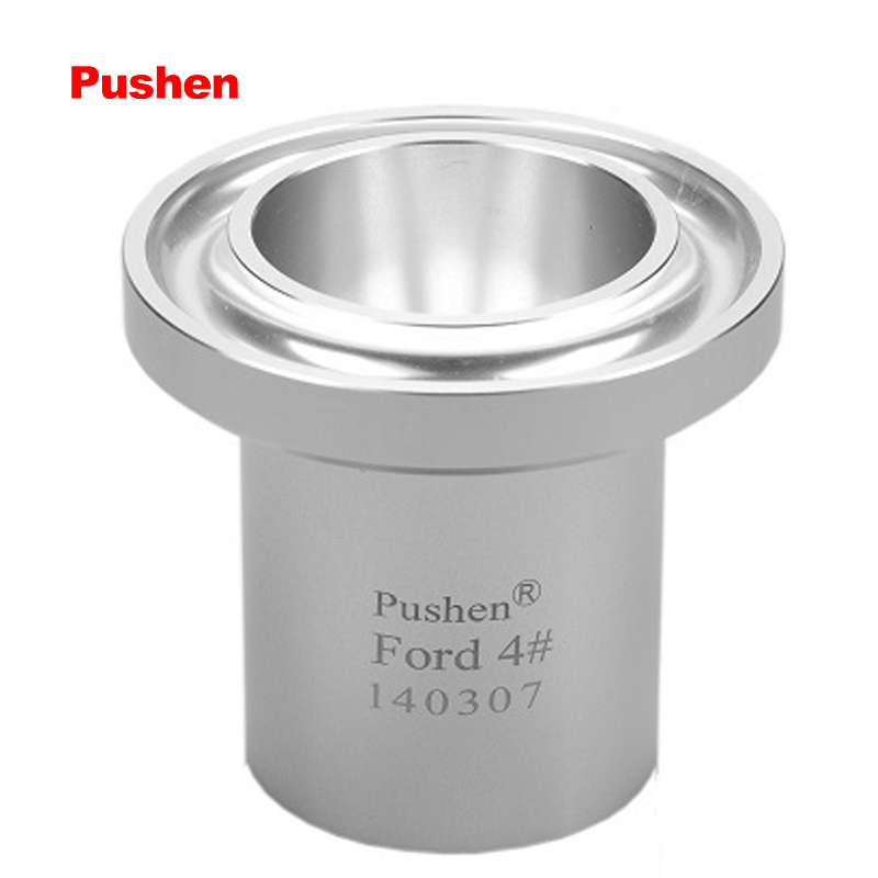 BRAND PUSHEN Paint Viscosity Cup FORD Flow Dip Cups ASTM D1200 D333 D356 viscometer for low viscosity liquids 100ml usa ford ink viscosity cup 2 3 4mm zahn flow cups for paint