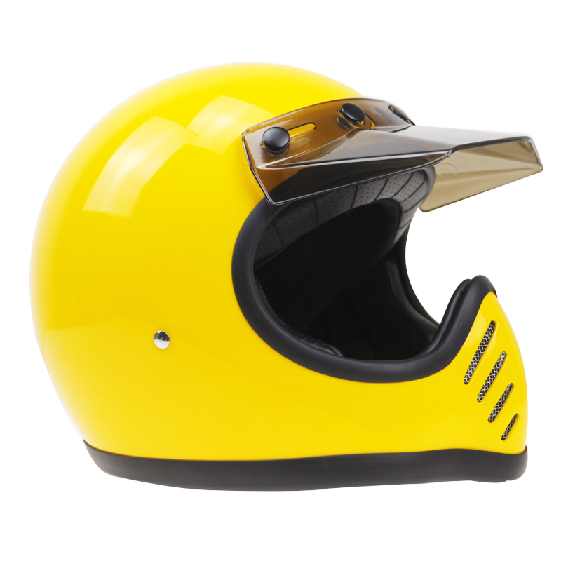 5 color available MOTO III style full face retro helmet Full Face motorcycle helmet husband's gift helmet DOT safey helmet|full face retro helmet|full face motorcycle helmet|motorcycle helmet - title=