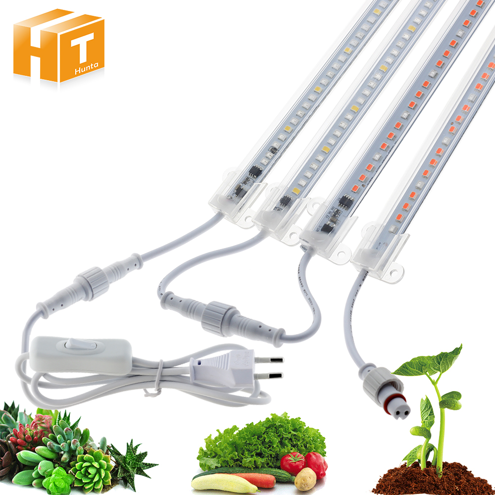 LED Grow Light AC220V High Luminous Efficiency Grow Light Tube IP67 Waterproof For Indoor Or Outdoor Plants Growing.