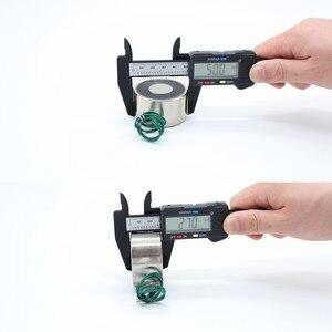 Image 5 - 50/27mm Emme 50 KG 500N DC 5 V/12 V/24 V Mini selenoid elektromıknatıs elektrikli Kaldırma elektro mıknatıs güçlü tutucu bardak DIY 12 v
