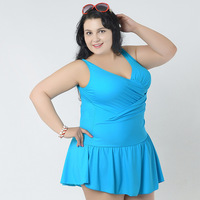 New Sweety One Piece Latest Lady Swimwear Push Up Swim Dress Swimsuit For Women Plus Size