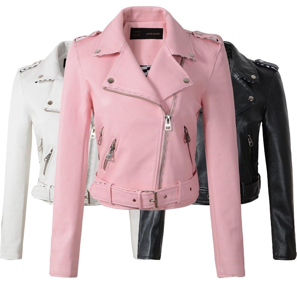 2019 de moda de invierno chaqueta mujer Chaquetas negro