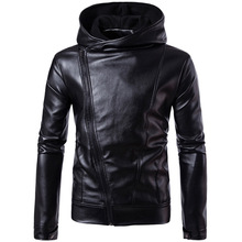 Mens Warm Leather Jackets PU Coats Fleece Solid Color Faux Fur Outerwear Faux Leather Motorcycle Jacket Winter Thick Clothes 4XL stylish solid color faux leather bracelet for men