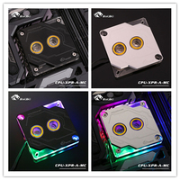 CPU XPR A MC BYKSKI new arrival CPU Block compatible LGA 1366 1151 115x 2011 2066 I7 pc cooler with connect motherboard aura 5v