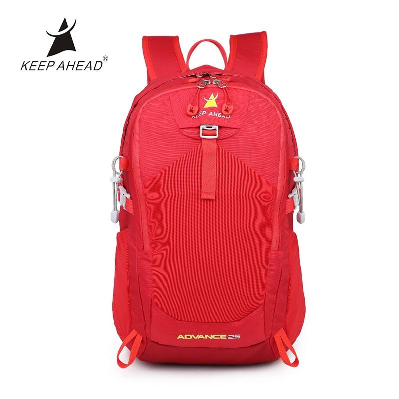 25L Outdoor Sport Men Hiking Backpack Waterproof Nylon Ultralight Hiking Travel Rucksack Water Bag with Rain