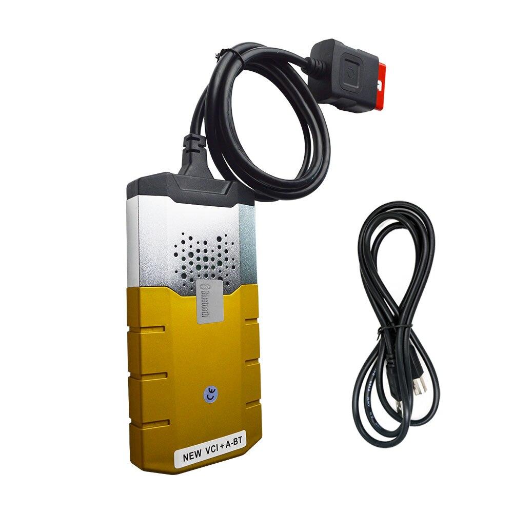 2018 150e CDP PRO 2015R3 с Bluetooth DS с OBD2 активатор диагностический золото