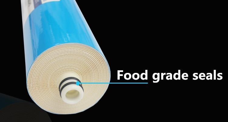 400 gpd кухонный фильтр для очистки воды 3012-400 мембрана фильтры для воды картриджи ro система фильтр мембрана + 5 м шланг 1/4