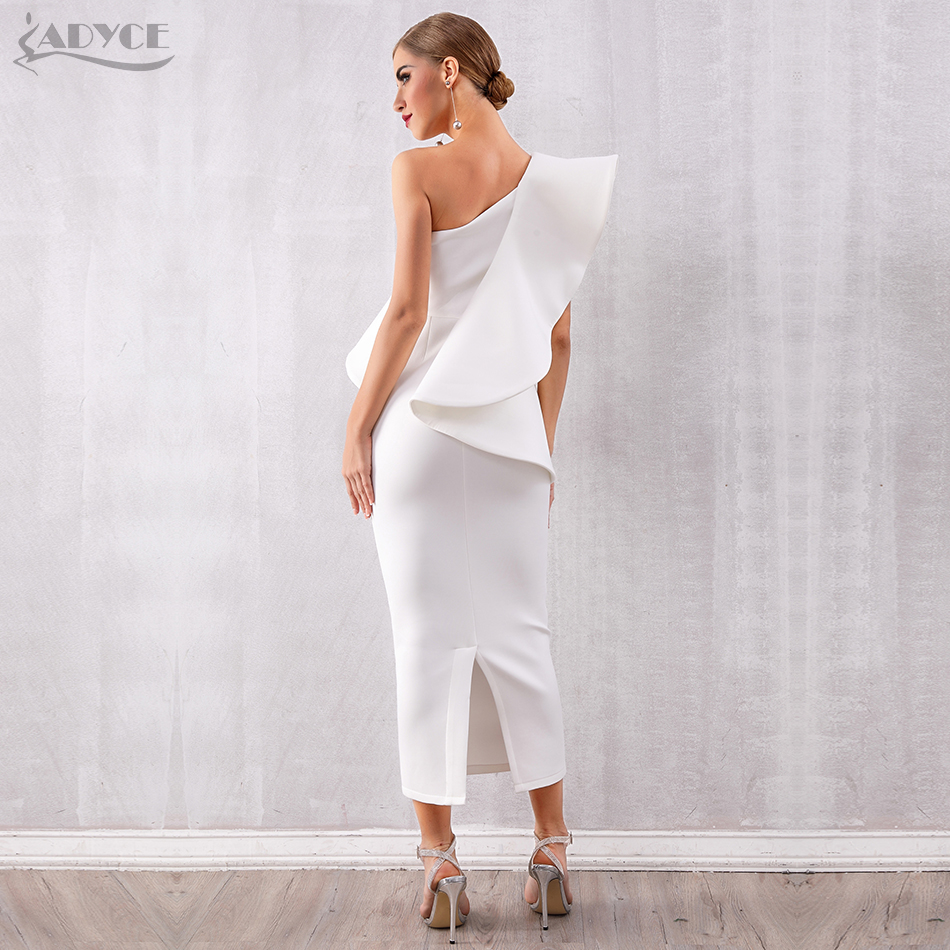 Image 3 - Adyce Summer Women White Celebrity Runway Party Dress Vestidos 